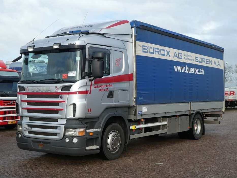 Scania R380 manual retarder - 2006