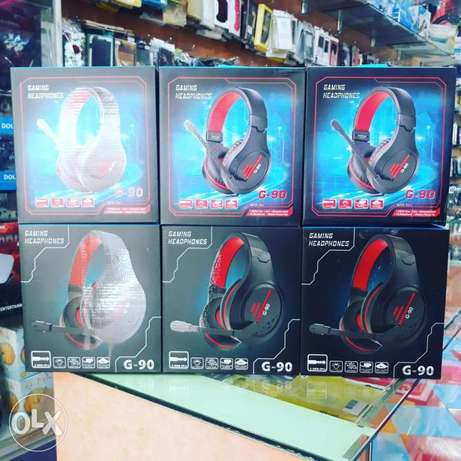 Gaming head phone g-90 good quality offer price each 5.5bd