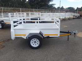 Fleetco trailers for sale, Brand new, Papers & Veridot incl.
