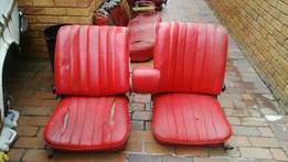 Mercedes Fintail Seats