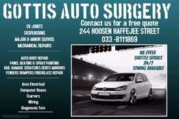 Repairs & Services to all makes of vehicles