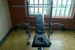 Brand new weight lifting bench with 50kg