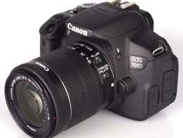 Canon EOS 700D, 18MP, 3″ LCD, 10x Optical Zoom, Digital SLR Camera