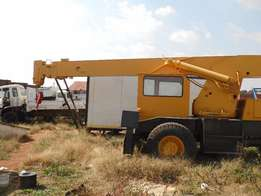 We are selling this Crane 25 ton