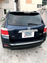 Lagos Cleared Clean Tokunbo 2012 Toyota Highlander Full Option #8M