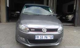 Vw polo 6 grey in color 1.6 confort line 2012 model 95000km R135000