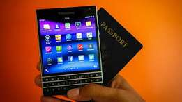 Black Berry passport brand new sealed 1yer warranty 18500