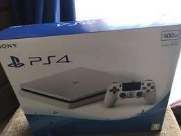 Brand New White PS4 Slim uncharted 4