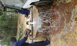 Borehole pump installations