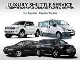 Luxury shuttle services for Businesses