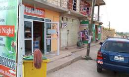 6 stores complete for sale in kasoa Liberia camp road side hot cake