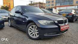 BMW 320i, Dark Blue
