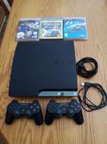 Sony Playstation 3 (Includes 2 remotes and 3 games)