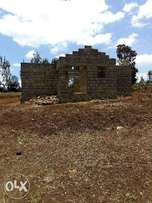 Prime Plot for sale at Kenol Kagaa with Partly finished 2bedroom hse