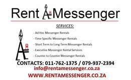 Rent A Messenger - Own vehicles + Messengers