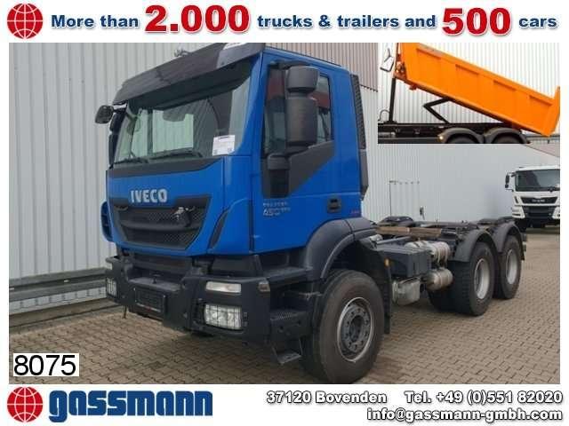 Iveco Trakker At260t41 6x4, Intarder - 2014