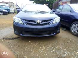 Toyota corolla 2005 model tokunbo very clear