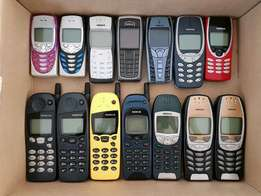 Vintage Nokia collection for sale as a lot