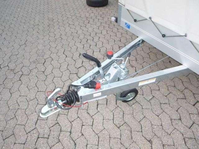 Humbaur Startrailer H132513 Alu Mit Hochplane 150 Cm, 251x131x30cm - image 2