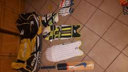 Great Kookaburra cricket kit & Nike bat