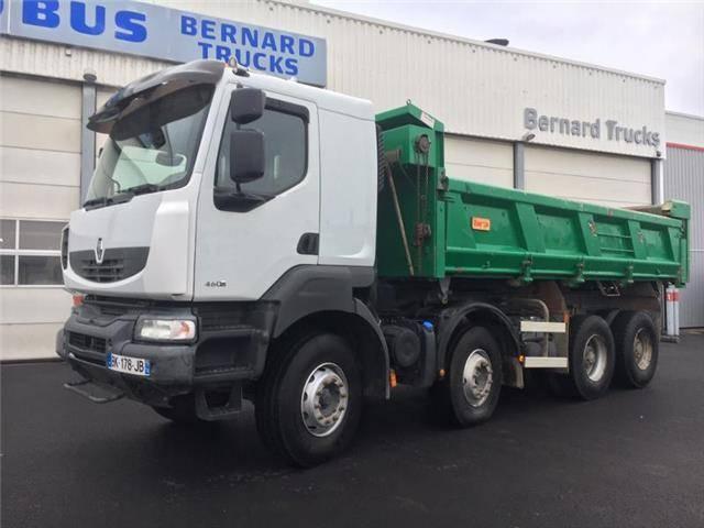Renault KERAX 460.42 8X4 bibenne