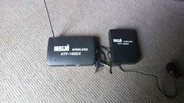 wireless microphone and wireless receiver