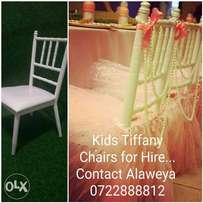 Kids tiffany chairs for hire