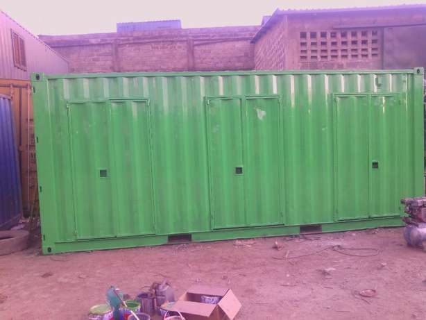 20ft Stalls Container with cut-out doors Ruiru - image 2