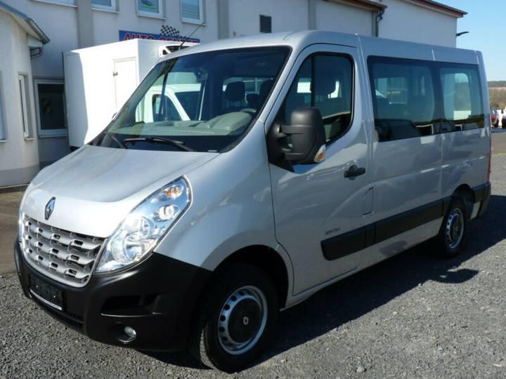 Renault Master Kombi 9 Sitze Klima Navi AHK - 2013