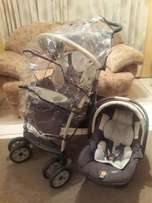 Chicco travel system with extras