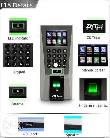 ZKT F18 Biometric Access Control