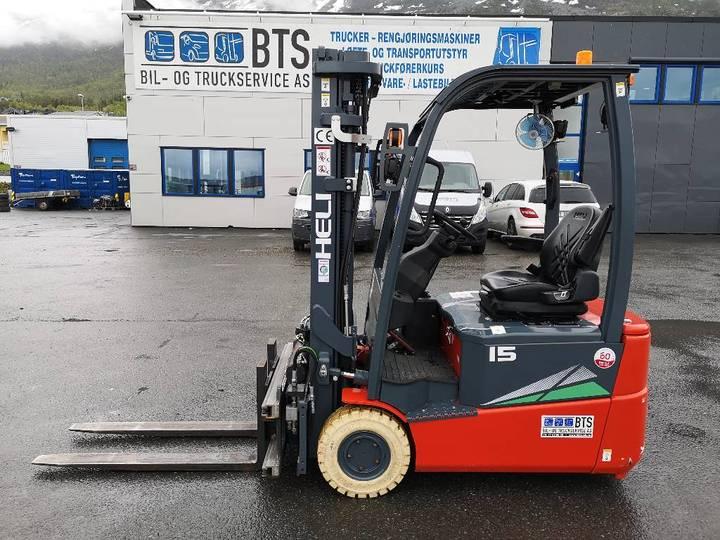 Heli Cpd15sq-gb2 - 1,5 Tonns El. Truck (solgt) - 2019