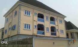 A standard two bedroom flat at NTA road