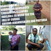 Nannies,Domestics,Houseboys are available to work for you