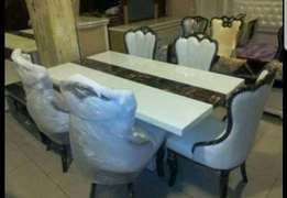 Executive Marble dining for 6setter