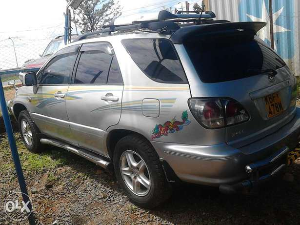 Toyota harrier petrol engine auto very very nice car and unique Langata - image 2