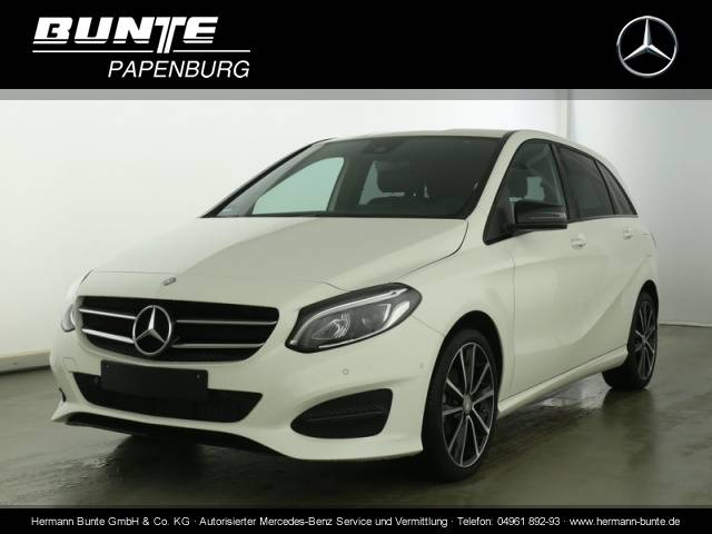 Mercedes-Benz B 180 d  Euro 6, Urban, Night, LED, Navi, Parktron Bluetooth Klima Einparkhilfe el. Fenster - 2015