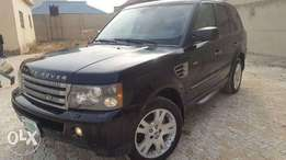First body used range rover sport 07 with full option