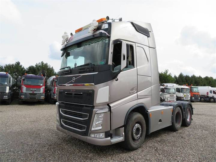 Volvo Fh540 6x4 Globetrotter Hydr. - 2013