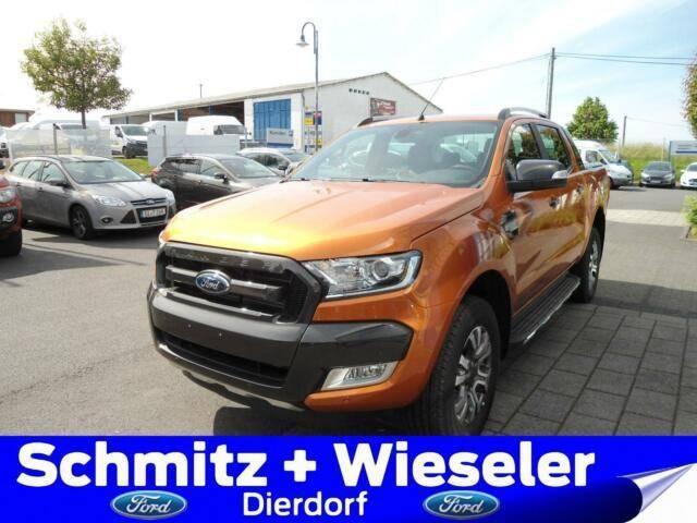 Ford Ranger DOKA 4x4 Wildtrak AHK/Standh/Rollo/ 30% - 2018