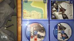 PlayStation 4 Games - Excellent condition
