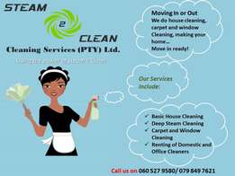 Move In or Out Deep Steam Cleaning Services