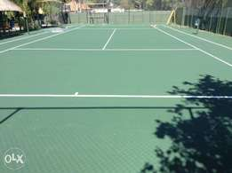 Tar surfaces ,tennis court,potholes repair