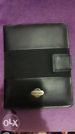 2020 Pierra Cardini Diary leather Black colour with Cross Pen