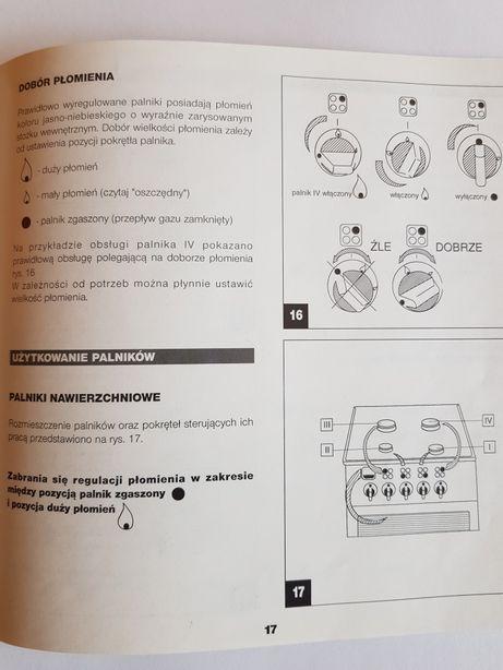 Kuchenka Gazowa Elektryczna Amica Instrukcja Obsługi