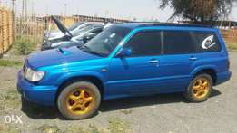 Subaru forester SF5 turbo.