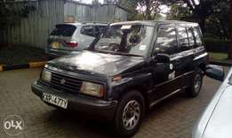 Suzuki escudo Kap manual asking 350k