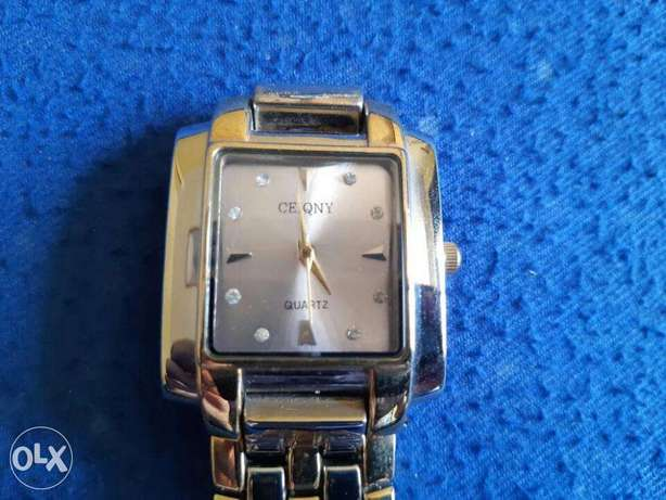 Ceiqny classic watch silver&gold from France