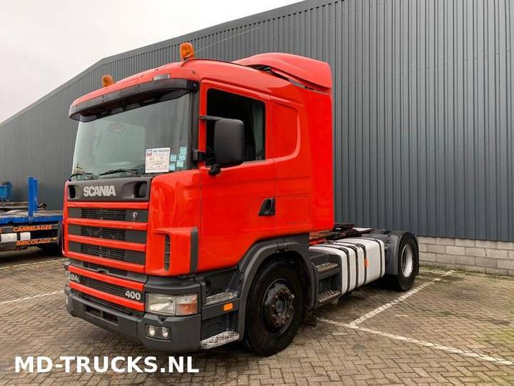 Scania 124 L 400 manual airco - 1997