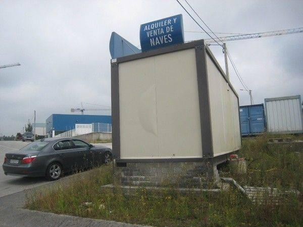 LOTE DE MATERIALES DE CONSTRUCCIÓN office cabin container